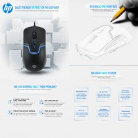HP M100 Gaming Wired